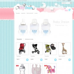 Baby Dream Responsive Prestashop 1.6